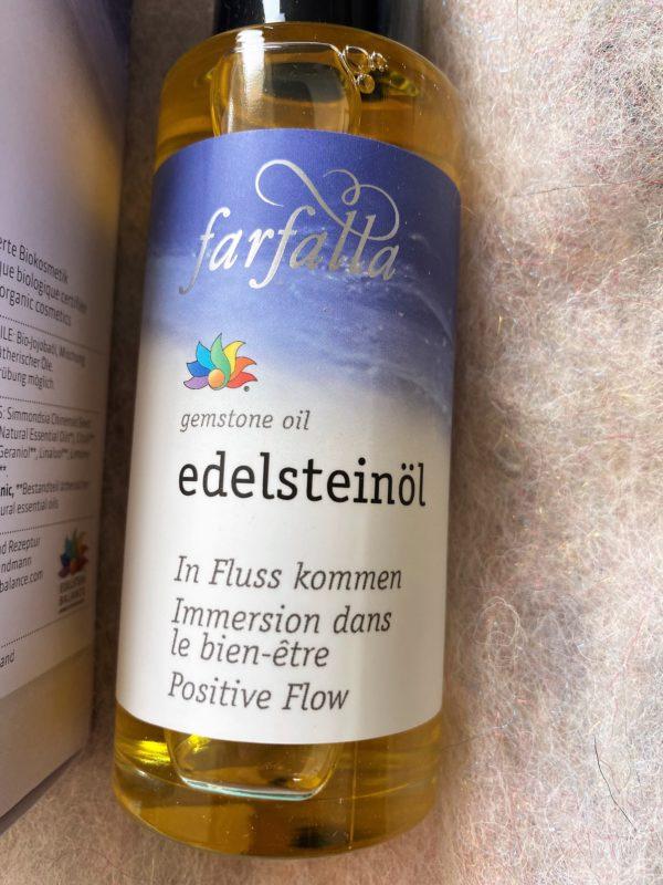 """Bio Edelstein-Öl Balance® """"In Fluss kommen"""" 80 ml - farfalla 2 SanjaNatur"""