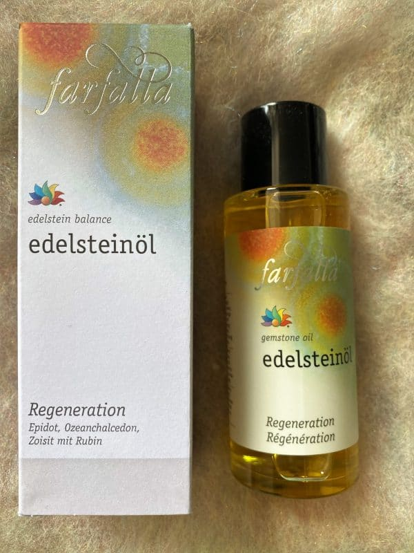 "Bio Edelstein-Öl Balance® ""Regeneration"" 80 ml - farfalla 1 SanjaNatur"