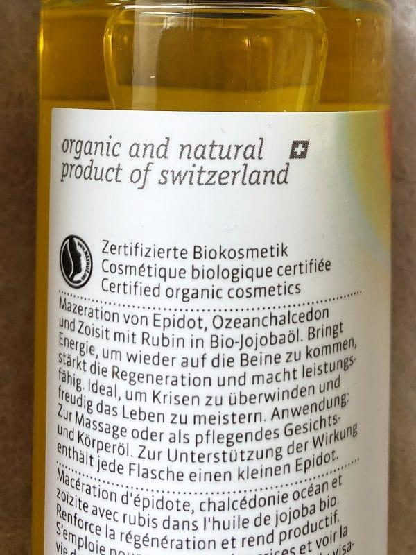 "Bio Edelstein-Öl Balance® ""Regeneration"" 80 ml - farfalla 3 SanjaNatur"