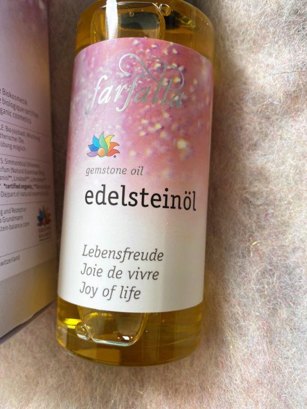 "Bio Edelstein-Öl Balance® ""Lebensfreude"" 80 ml - farfalla 2 SanjaNatur"