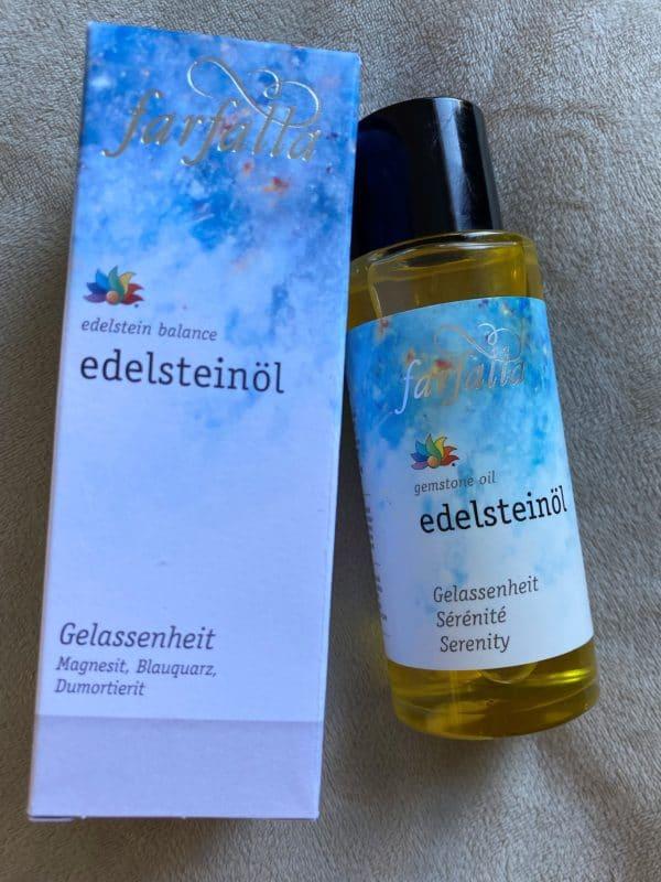 "Bio Edelstein-Öl Balance® ""Gelassenheit"" 80 ml - farfalla 1 SanjaNatur"