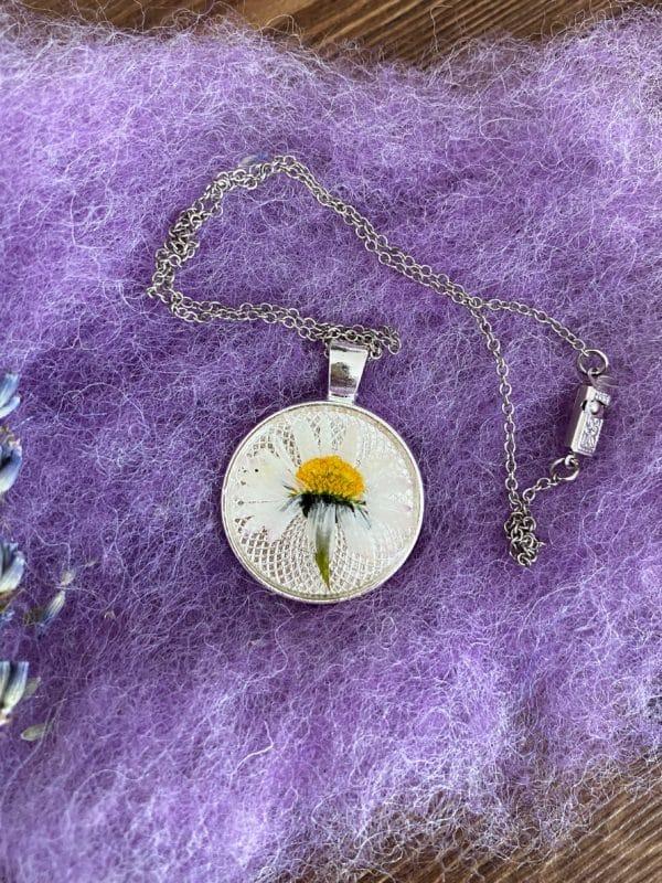 Blütenkette Gänseblümchen 1 SanjaNatur