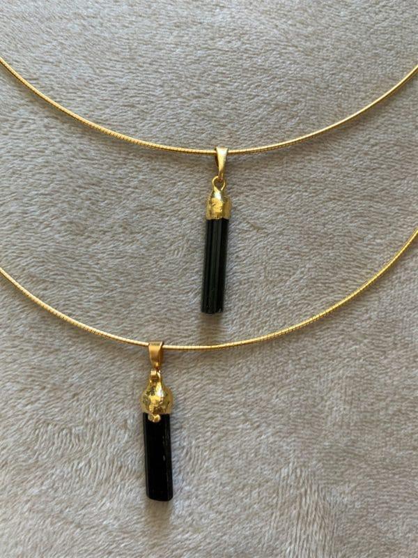 Edelstein Halskette Individual-Auftrag 5 SanjaNatur