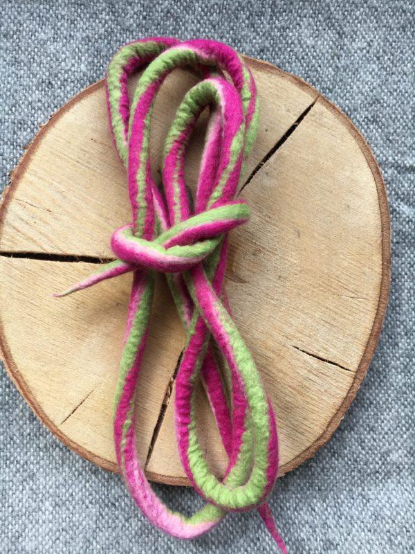 Filzschnüre Ø1,5cm 009 - Frühlingsfarben 2 SanjaNatur