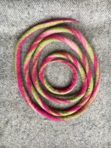 Filzschnüre Ø1,5cm 009 - Frühlingsfarben 4 SanjaNatur