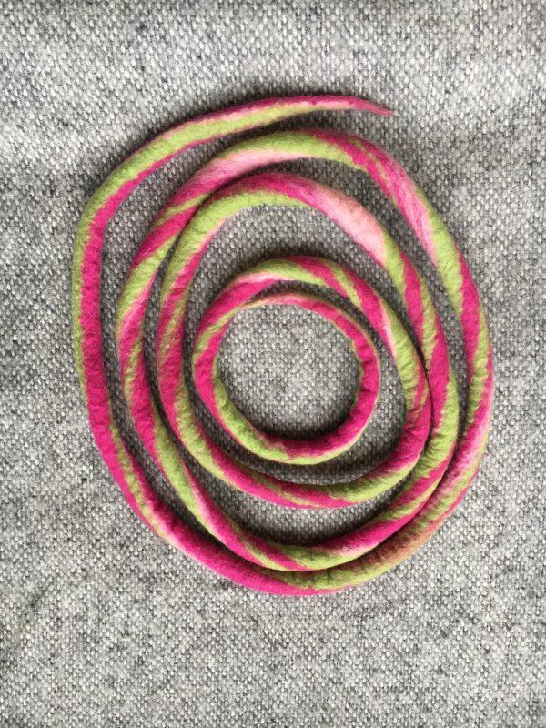 Filzschnüre Ø1,5cm 009 - Frühlingsfarben 1 SanjaNatur