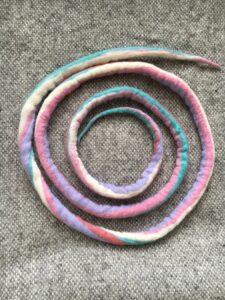 Filzschnüre Ø1,5cm 011 - Einhorn 3 SanjaNatur
