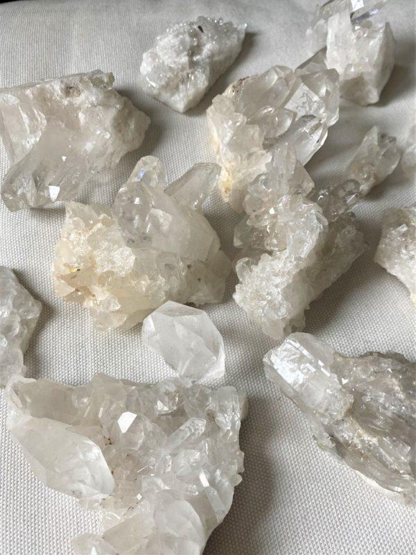 Bergkristall Stufen und Spitzen (klein) - Entdecken und staunen 1 SanjaNatur