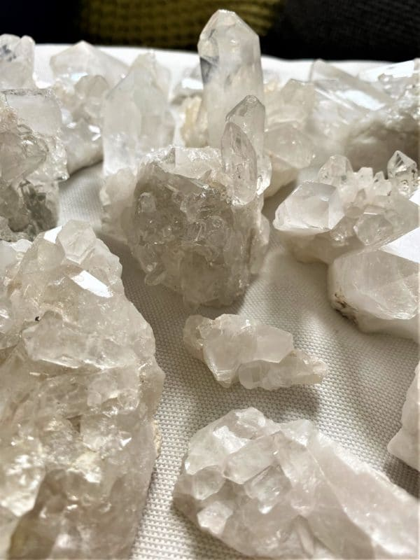 Bergkristall Stufen und Spitzen (groß) - Entdecken und staunen 1 SanjaNatur