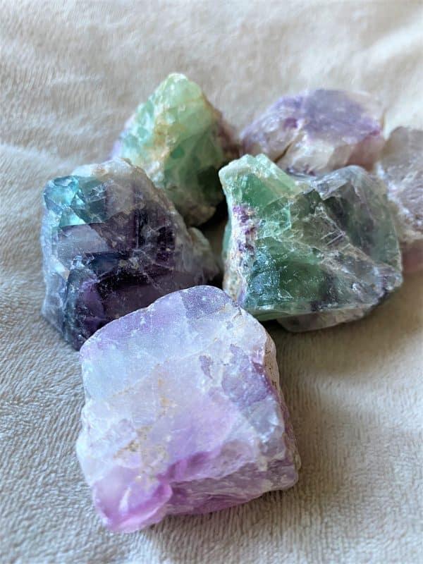 Wassersteine Regenbogen Fluorit - Konzentration 3 SanjaNatur