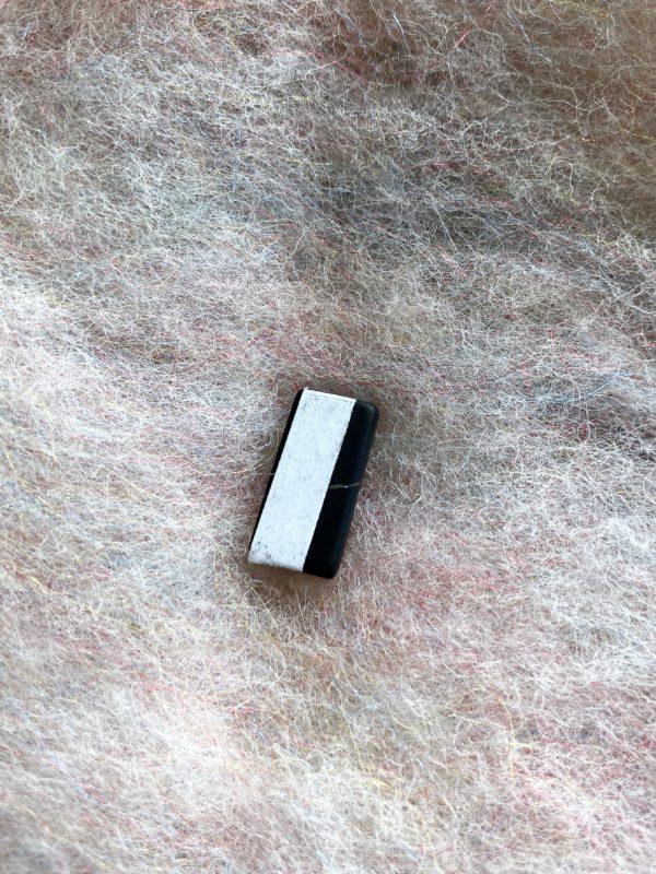 Schungit Handy Plättchen, 2 x 1 cm Strahlenschutz 3 SanjaNatur