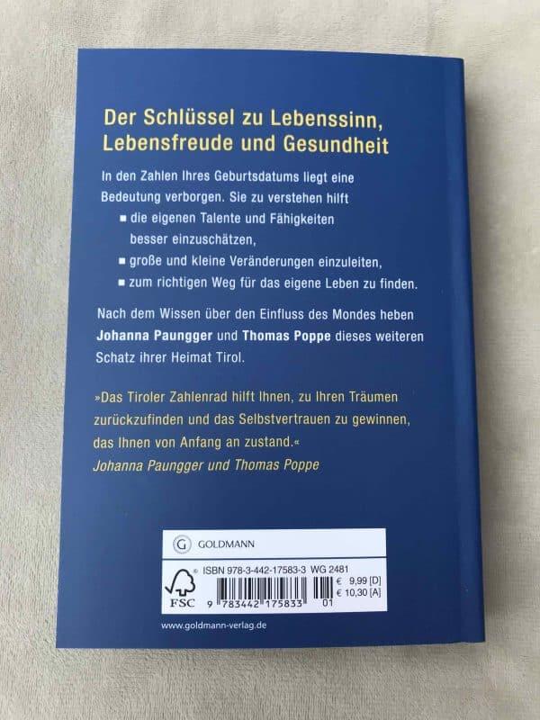 Das Tiroler Zahlenrad: Das Geheimnis Ihrer Geburtszahlen (Deutsch) Taschenbuch 2 SanjaNatur