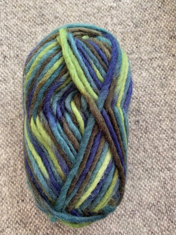 Filzwolle 100% Schurwolle Farbverlauf Meeresgrund 1 SanjaNatur