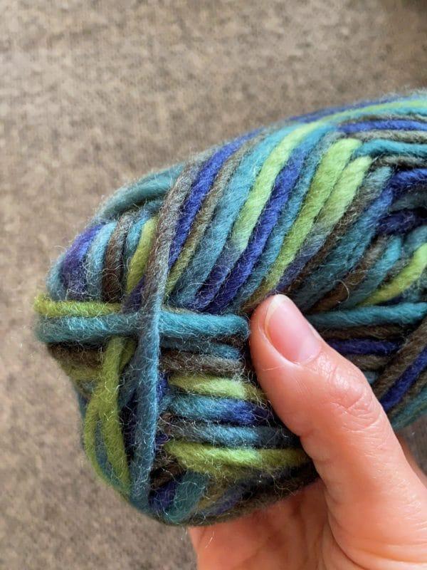 Filzwolle 100% Schurwolle Farbverlauf Meeresgrund 2 SanjaNatur