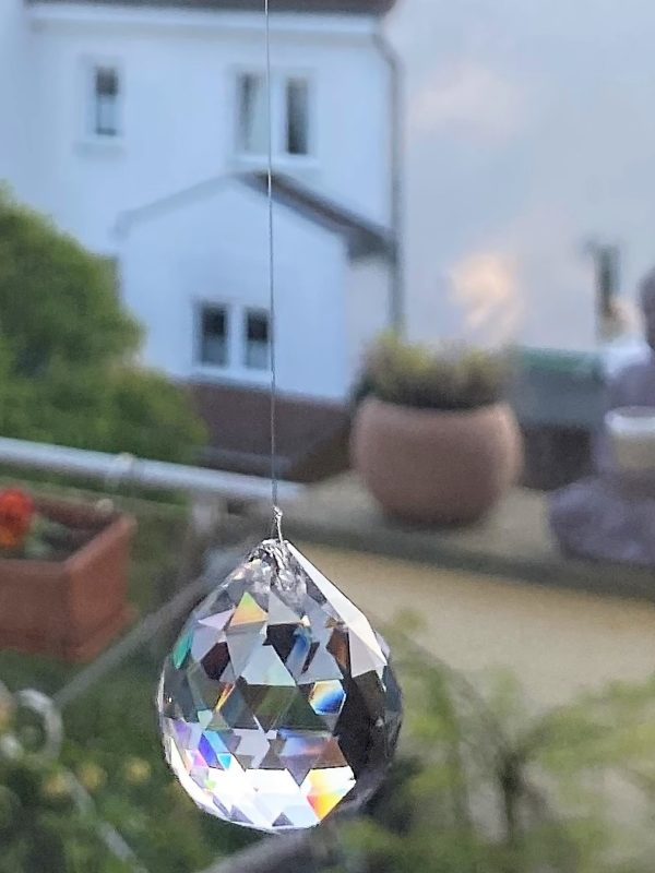 Prisma Regenbogenkristall 3 cm 3 SanjaNatur