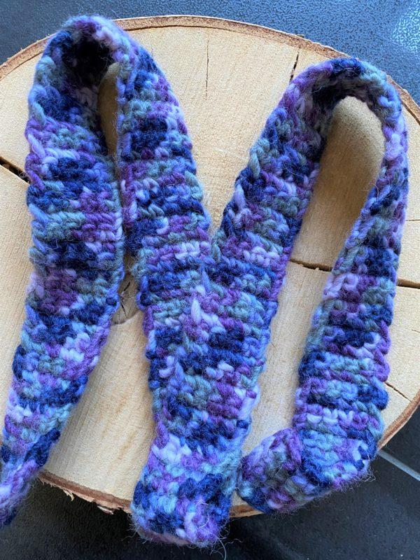 Schneckenband Märchenwald 21 - Lavendel 3 SanjaNatur