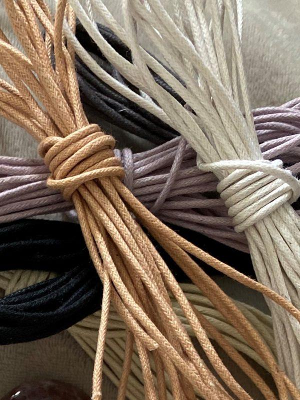 Baumwollband - verschiedene Farben 1 SanjaNatur