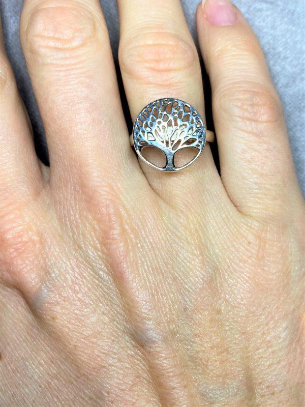 Ring Baum des Lebens - Silber 2 SanjaNatur