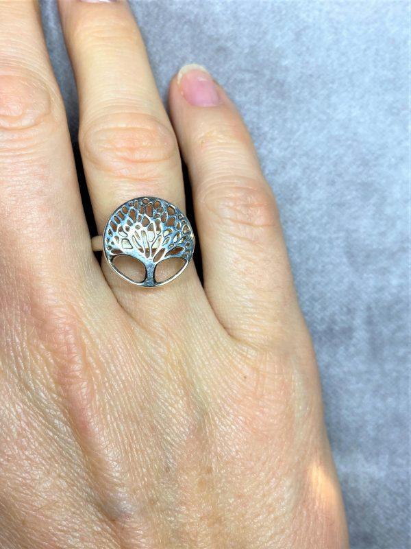 Ring Baum des Lebens - Silber 1 SanjaNatur