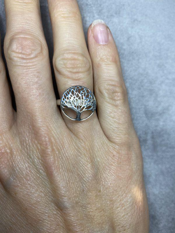 Ring Baum des Lebens - Silber 3 SanjaNatur