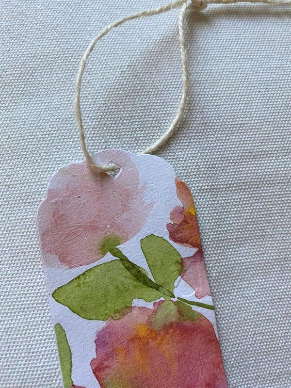 Lesezeichen groß 16,5 cm- Blumen - Frühlingsdesign 3 SanjaNatur