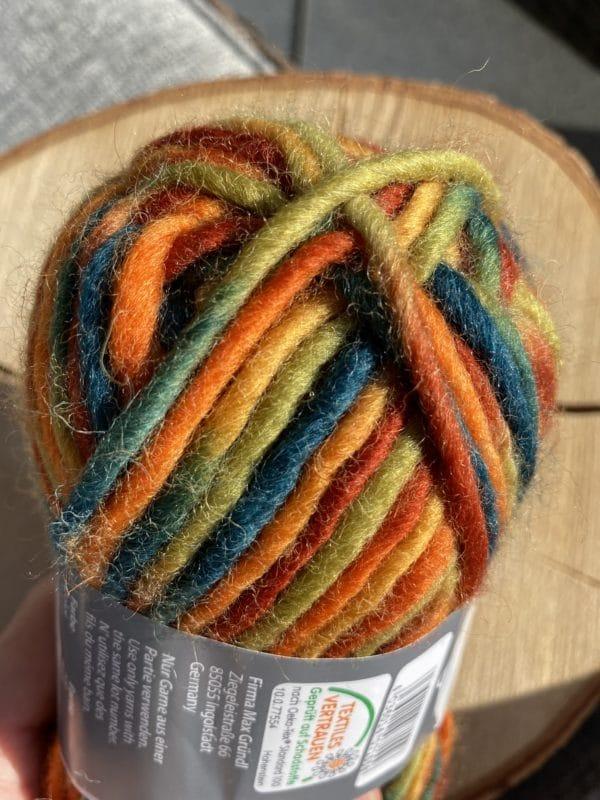 Filzwolle Color 100% Schurwolle Farbverlauf Märchenwald 2 SanjaNatur