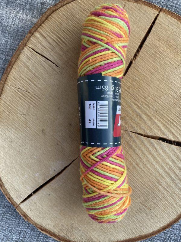 Baumwolle 100% Baumwolle Farbverlauf Einhorn 1 SanjaNatur