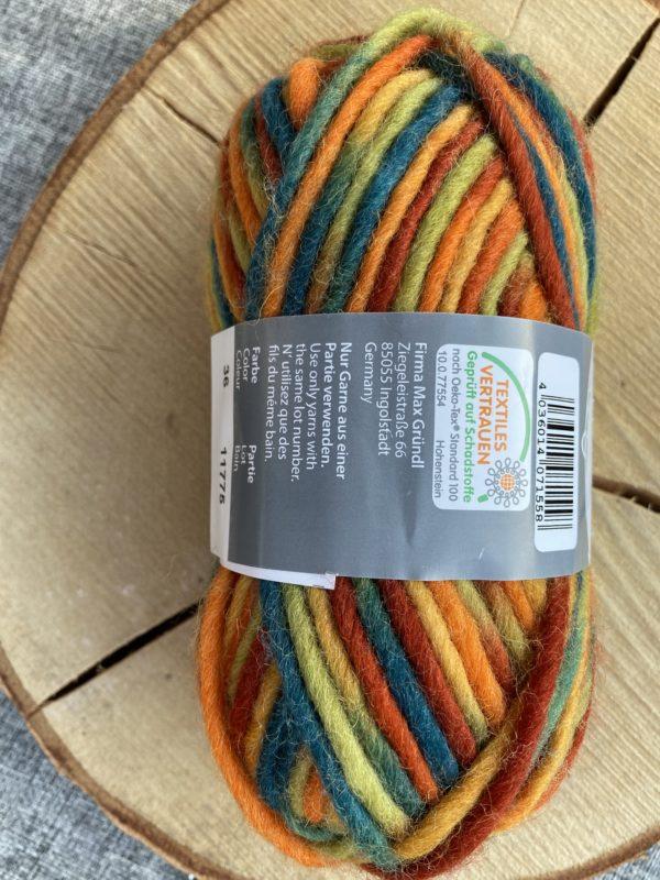 Filzwolle Color 100% Schurwolle Farbverlauf Märchenwald 1 SanjaNatur