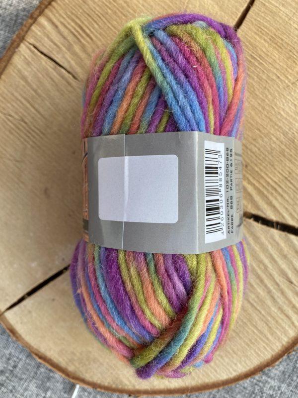 Filzwolle 100% Schurwolle Farbverlauf Einhorn 1 SanjaNatur