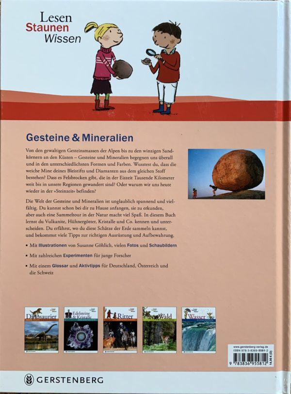 Gesteine & Mineralien : Entdecken, Bestimmen, Sammeln 2 SanjaNatur
